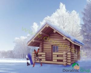proiect casuta de vacanta din lemn rotund 1 - 2