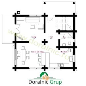 proiect casa din busteni 10 - 4