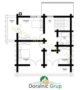 proiect casa din busteni 10 - 5