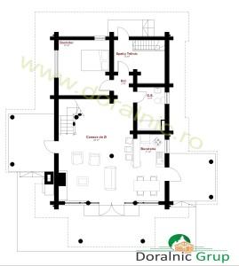 proiect casa din busteni 11 - 4