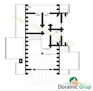 proiect casa din busteni 11 - 5