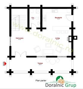 proiect casa din busteni 12 - 5