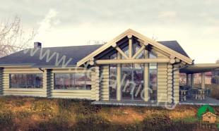proiect sala de mese din lemn rotund 13 - 1