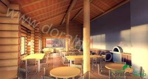 proiect sala de mese din lemn rotund 13 - 5
