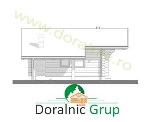 proiect casa din lemn rotund 2 - 5