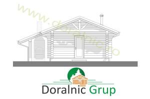 proiect casa din lemn rotund 2 - 6