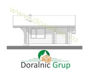 proiect casa din lemn rotund 2 - 7