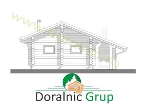 proiect casa din lemn rotund 2 - 8