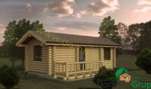 proiect casa din lemn rotund 3 - 1