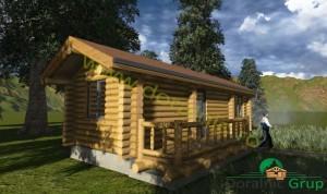 proiect casa din lemn rotund 3 - 3
