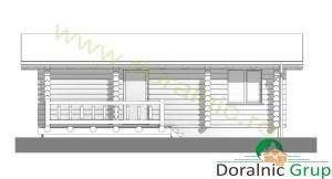 proiect casa din lemn rotund 3 - 5