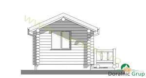 proiect casa din lemn rotund 3 - 6