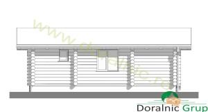 proiect casa din lemn rotund 3 - 7