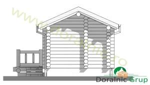proiect casa din lemn rotund 3 - 8