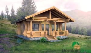 proiect casa din lemn rotund 4 - 2