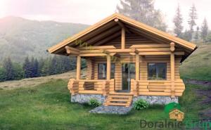proiect casa din lemn rotund 4 - 3