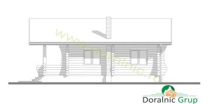 proiect casa din lemn rotund 4 - 6