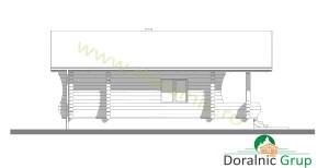 proiect casa din lemn rotund 4 - 7