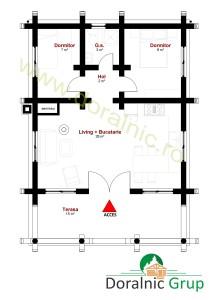 proiect casa din busteni 6 - 5