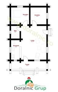 proiect casa din busteni 8 - 4