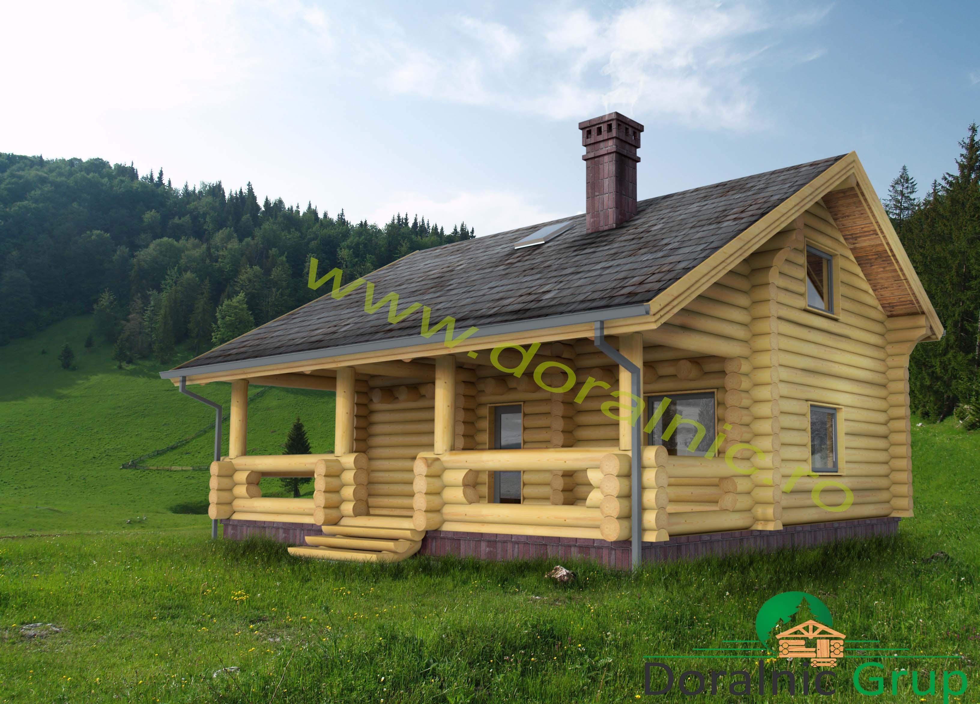 Proiect Casa Din Lemn.Proiect Doralnic 9 Case Din Busteni Cabane Din Lemn