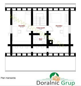 proiect casa din busteni 9 - 7