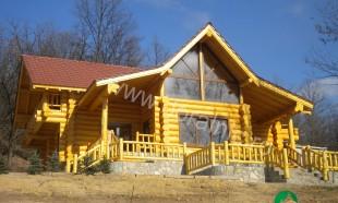 cabana din lemn filip tg jiu 1