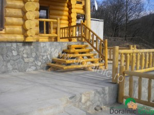 cabana din lemn filip tg jiu 14