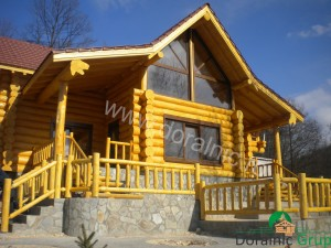 cabana din lemn filip tg jiu 4