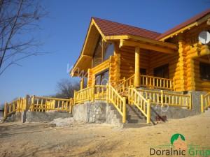 cabana din lemn filip tg jiu 6