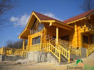 cabana din lemn filip tg jiu 7