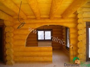 cabana din lemn filip tg jiu 8