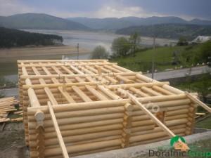 cabana din lemn rotund stelian 10