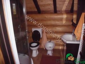 casa din lemn rotund pret ieftin 10