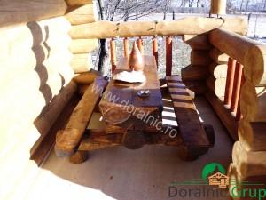 casa din lemn rotund pret ieftin 4