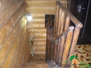 casa din lemn rotund pret ieftin 7