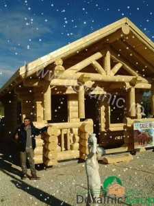 casuta de vacanta din lemn rotund expo italia 5