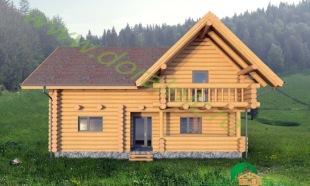proiect doralnic 15 casa din bustean